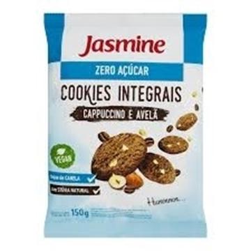 Imagem de Biscoito Cookies Jasmine Integral sem açúcar Capuccino 150g