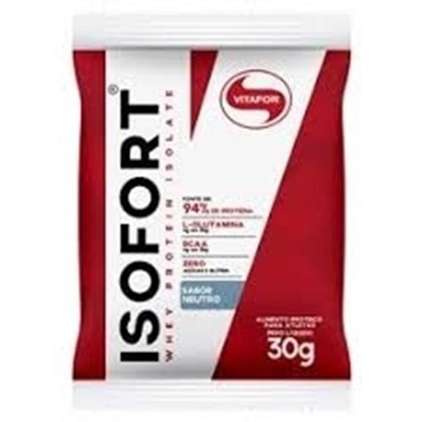 Imagem de Whey Protein Isofort Vitafor neutro Sachê 30g
