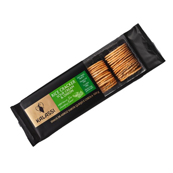 Imagem de Biscoito Cracker Kalassi Sour Cream 100g
