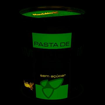 Imagem de Pasta de Amendoim Integral com Amendoim Granulado Mandubim 450g