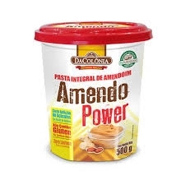 Imagem de Pasta de Amendoim Da Colonia AmendoPower tradicional 500g