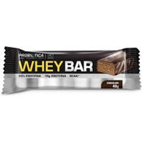 Imagem de Barra de Proteína Whey Bar Probiótica Chocolate 40g