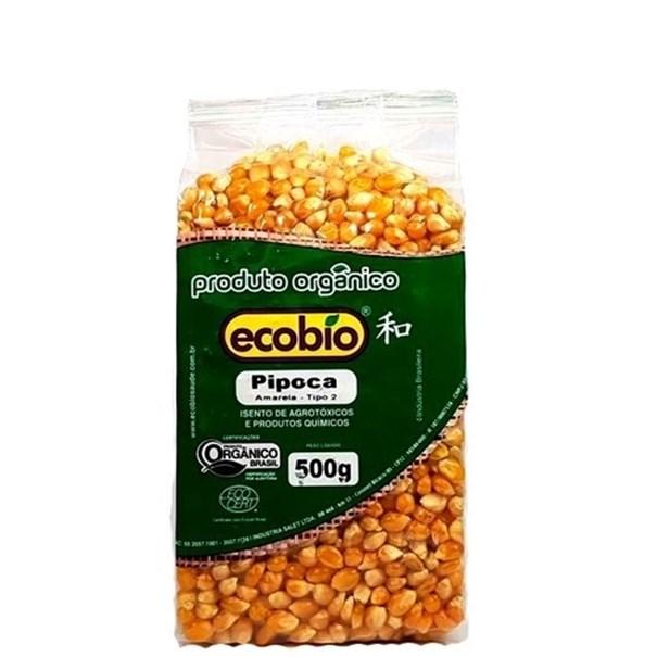 Imagem de Milho de Pipoca Ecobio Orgânico Vácuo 500g