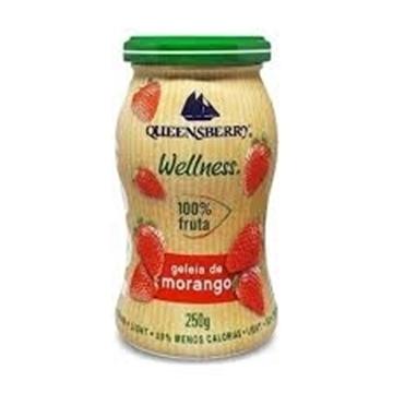 Imagem de Geleia Queensberry Morango 100% fruta Zero Açúcar 250g