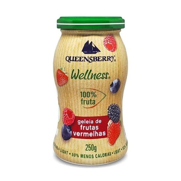 Imagem de Geléia Queensberry Frutas Vermelhas 100% fruta Zero Açúcar 250g