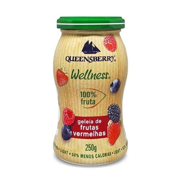 Imagem de Geleia Queensberry Frutas Vermelhas 100% fruta Zero Açúcar 250g