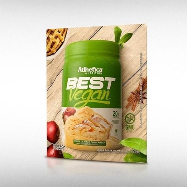 Imagem de Best Vegan Torta de Maçã e Canela Atlhetica sache 32g