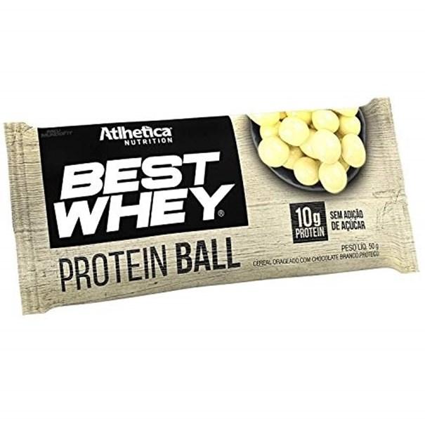 Imagem de Best Whey proteína Ball Chocolate Branco 50g