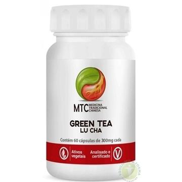 Imagem de Green Tea  Lu Cha 350mg 60caps