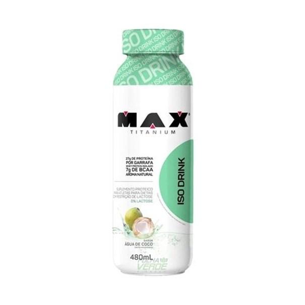 Imagem de Iso Drink Água de Coco Max Tit 480ml