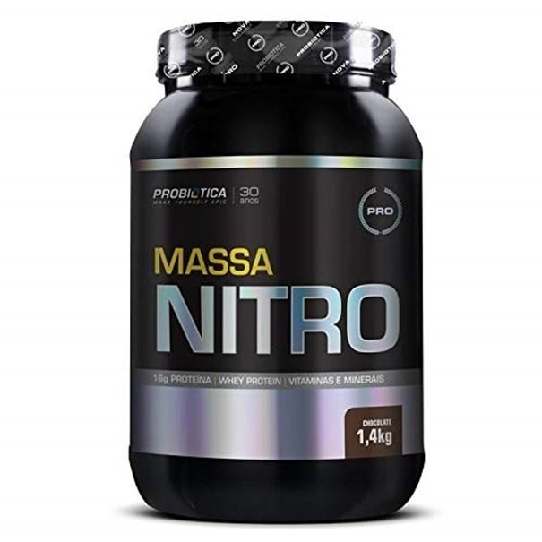 Imagem de Massa Nitro Probiotica Chocolate NO2 1.4kg