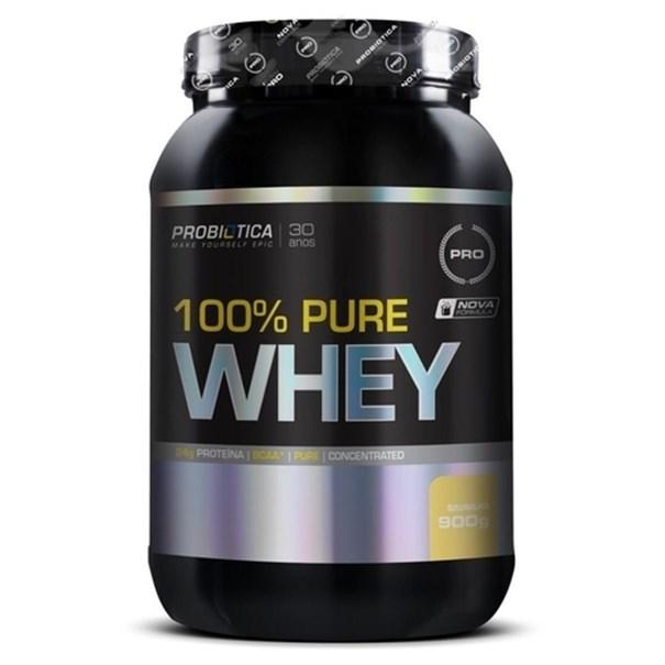 Imagem de Proteína 100% Pure Whey Probiótica Baunilha 900g