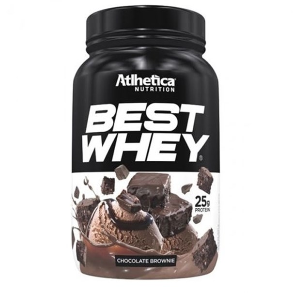 Imagem de Proteína Best Whey Brownie Chocolate 900g