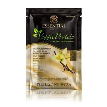Imagem de Veggie Protein Vanilla Essential Nutrition Sachê 30g