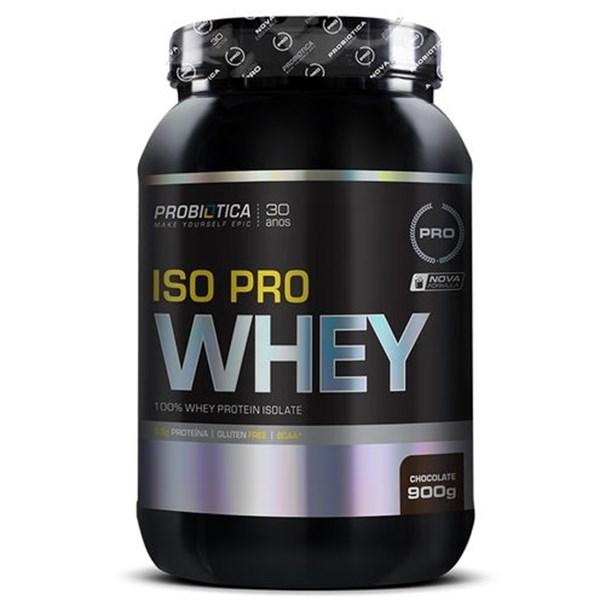 Imagem de Iso Pro Whey Probiotica Chocolate 900g