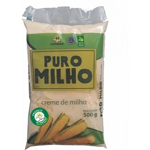 Imagem de Creme Milho Puro Milho 500g