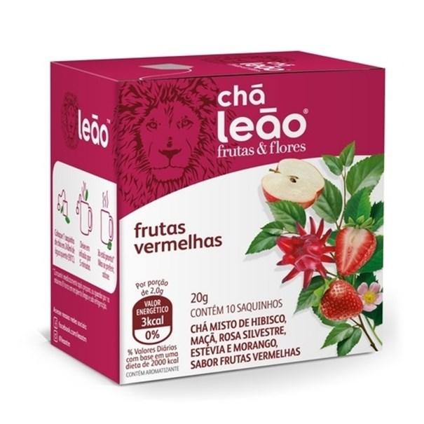 Imagem de Chá Leão frutas vermelhas 20g