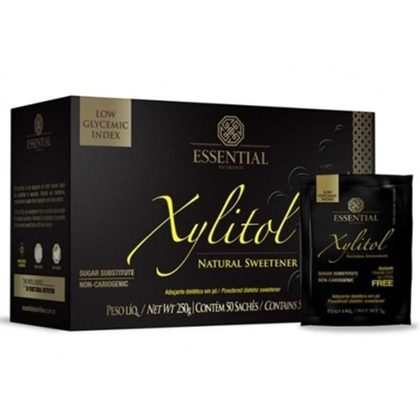 Imagem de Essential Xylitol  caixa com 50 sachê 5g