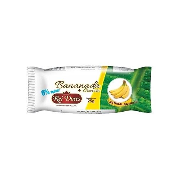 Imagem de Bananada Rei Doces Zero Açúcar 25g
