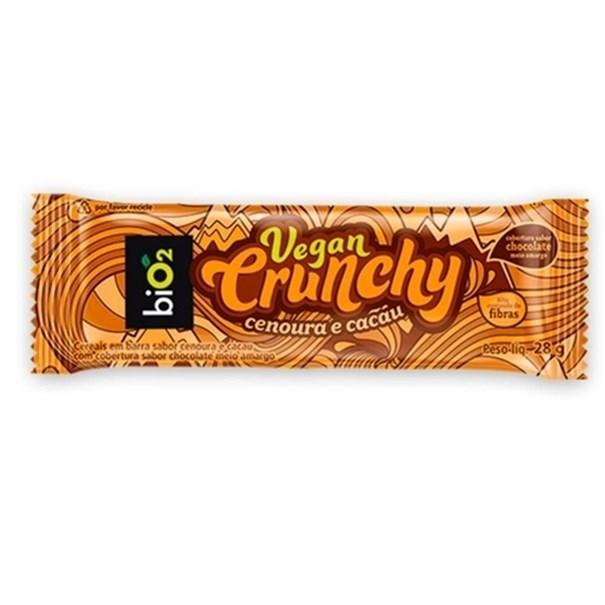 Imagem de Barra Vegan Crunch Cenoura Cacau Bio2 28g