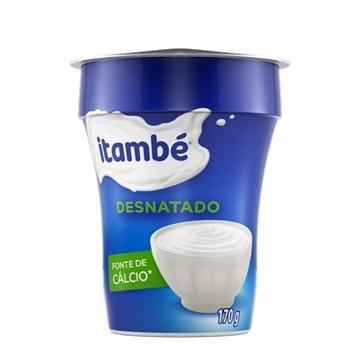 Imagem de Iogurte Itambé Natural desnatado 170g