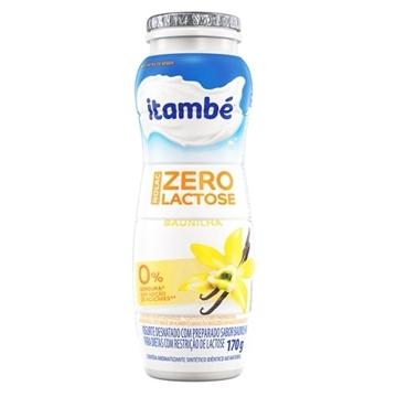 Imagem de Iogurte Itambé Sem Lactose baunilha Zero 170g