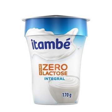 Imagem de Iogurte natural Itambé Nolac Integral 170g