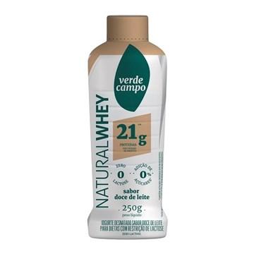 Imagem de Iogurte Natural Whey 21g Doce de Leite 250ml - Verde Campo