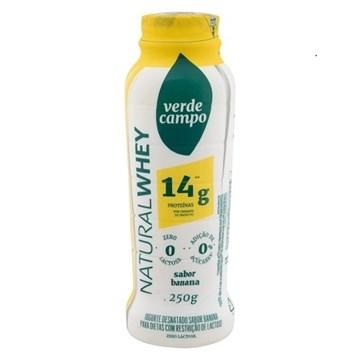 Imagem de Iogurte Natural  Whey 14g Verde Campo Banana 250g