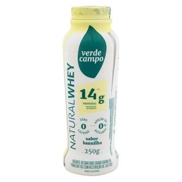 Imagem de Iogurte Natural Whey  14g Verde Campo -   Baunilha 250g