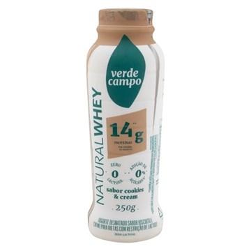 Imagem de Iogurte Natural Whey 14g Verde Campo Cookies 250g