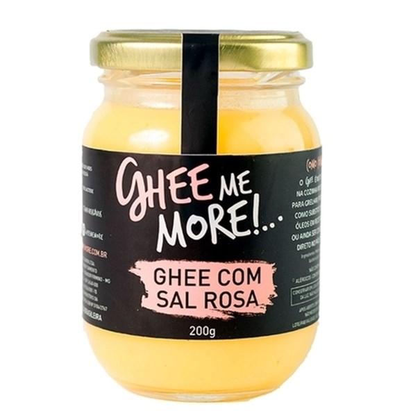 Imagem de Manteiga Ghee Me More com sal rosa 200g