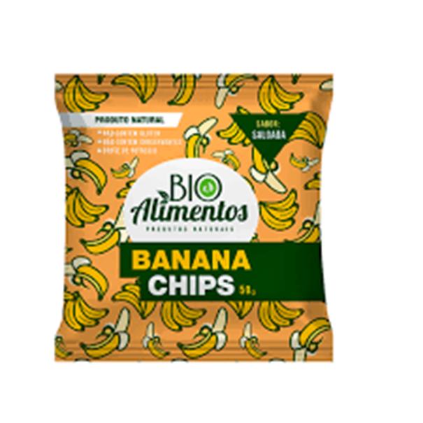 Imagem de Banana Chips Salgada Bio Alimento 50g
