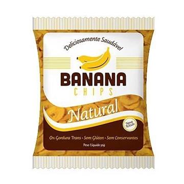 Imagem de Banana Chips Terraria Natural 50g