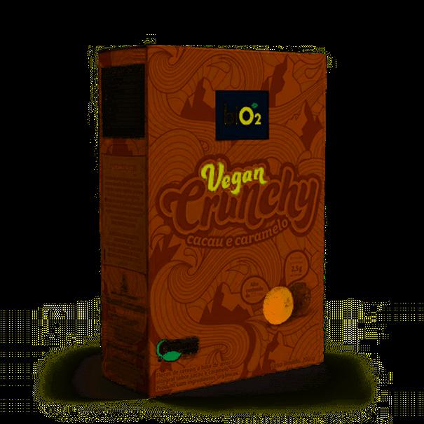 Imagem de BIO2 Vegan Crunchy Cacau e Caramelo 200g