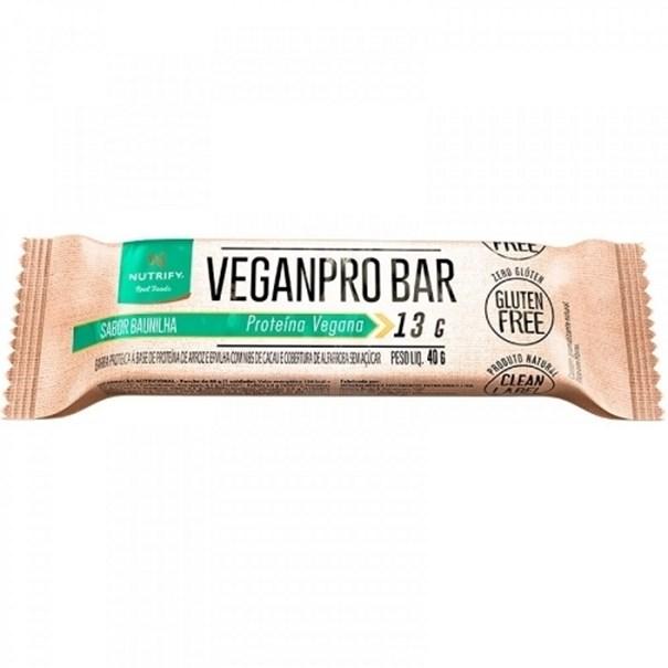 Imagem de Barra Nutrify VeganPro Bar Amendoim Crocante 40G