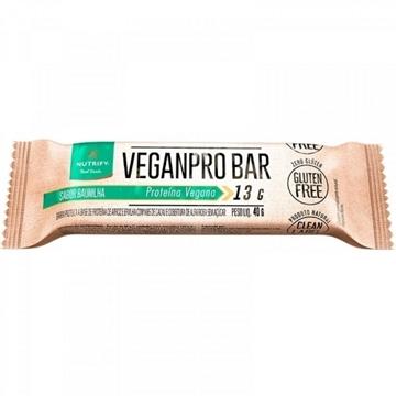 Imagem de Barra VeganPro Bar Nutrify Baunilha Cacau Nibs 40g