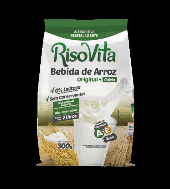 Imagem de Bebida de Arroz Risovita Pó Original sache 300g