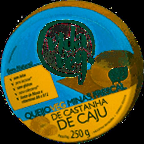 Imagem de Queijo Vegano Minas Frescal Vida Veg de Castanha de Caju 250g