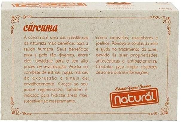 Imagem de Sabonete Natural Extra Cúrcuma 80g