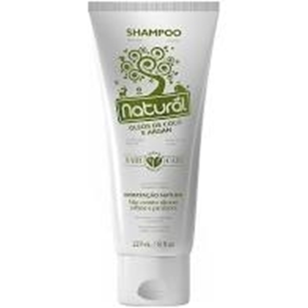 Imagem de Shampoo Natural Óleo de Coco Argan 273ml