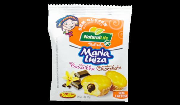Imagem de Bolinho Maria Luiza Baunilha com Chocolate Sem Glúten Natural Life 35g