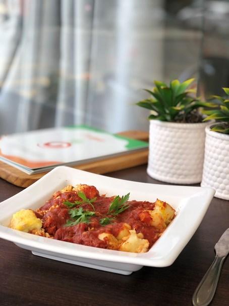 Imagem de Nhoque de Batata Doce com frango Gourmet Light 400g