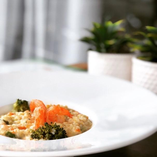 Imagem de Risoto Integral Gourmet Light Camarão com Legumes 400g
