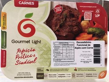 Imagem de Escondidinho Funcional Gourmet Light Aipim e Carne 400g