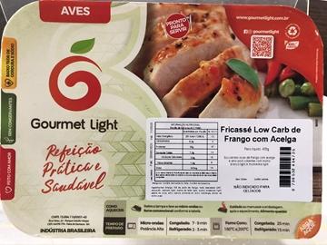 Imagem de Fricasse Low Carb Gourmet Light Frango com Acelga 400g