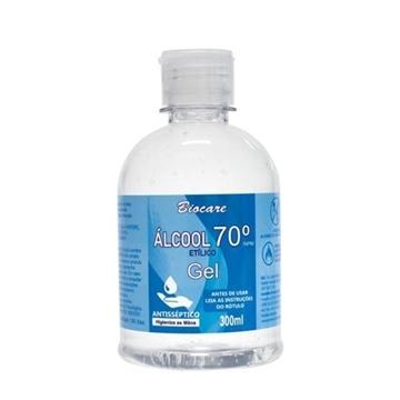 Imagem de Álcool Gel Higienizante Mãos Álcool 70% Biocare 300ml
