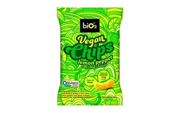Imagem de Vegan Chips Lemon Pepper Bio2 40g
