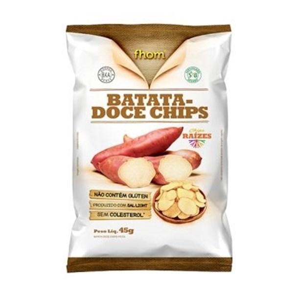 Imagem de Chips de Batata Doce Fhom 45g