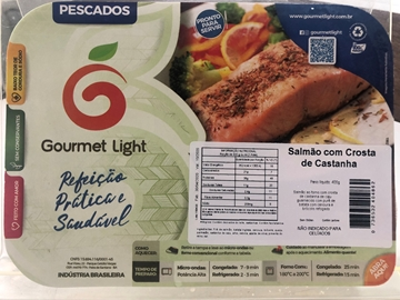 Imagem de Salmão Gourmet Light com Castanhas 380g